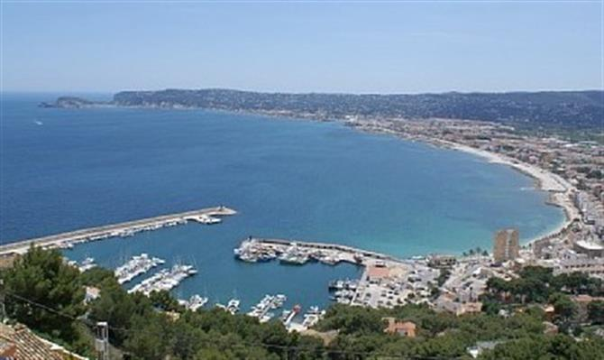 Cabo San Antonio looking down to Javea