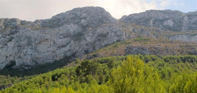 Montgo mountain from Denia