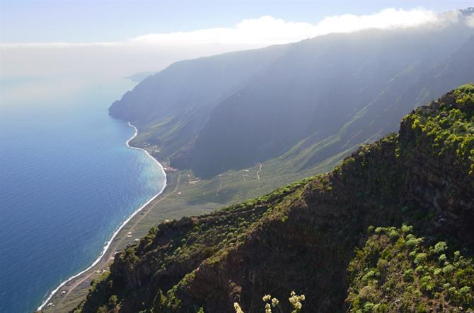 Viewpoint over Las Playas, El Hierro