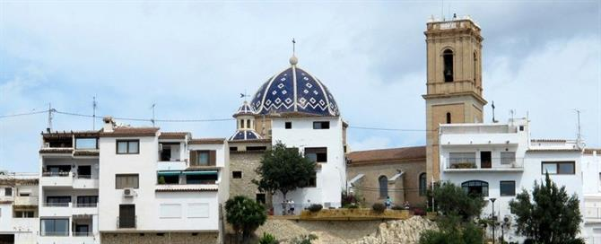 Virgen del Consuelo church in Altea