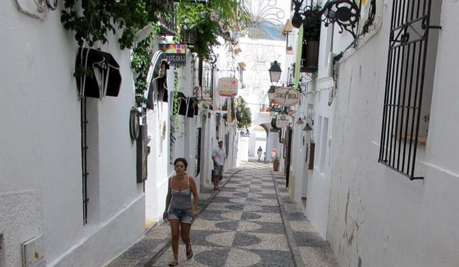 Altea's pretty old town