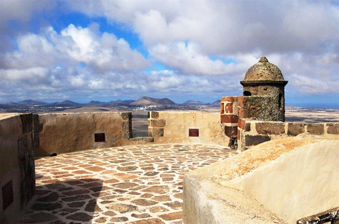 Santa Barbara Castle, Teguise, Lanzarote, Canary Islands