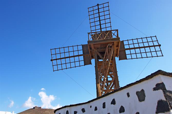 Windmill, Teguise, Lanzarote, Canary Islands