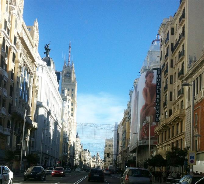 Gran Via, Madryt