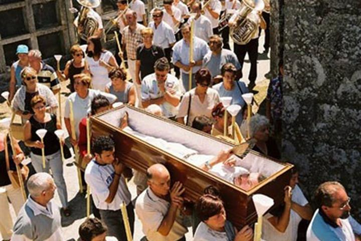 The Fiesta de Santa Marta de Ribarteme - Near Death Experiences