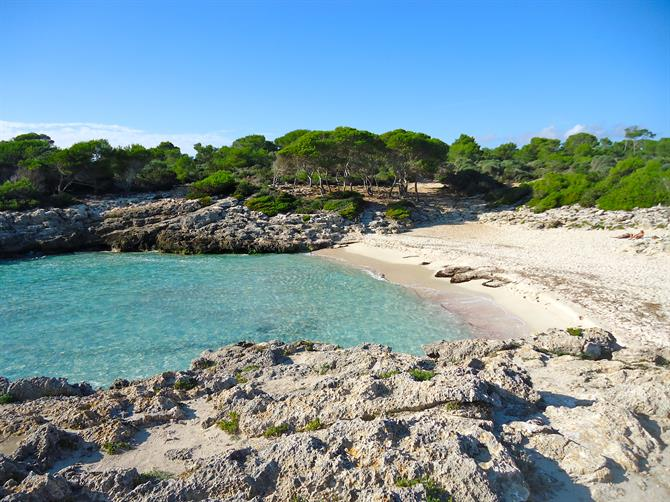The virgin beaches of Menorca - Cala Es Talaier