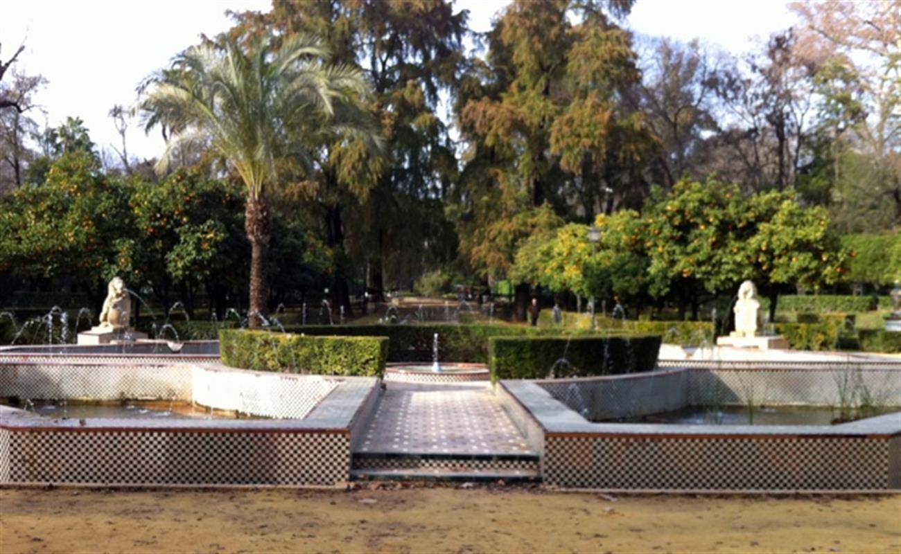 maria luisa park in seville and the 1929 exhibition
