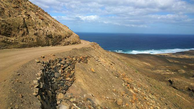 Road to El Cofete beach, Fuerteventura
