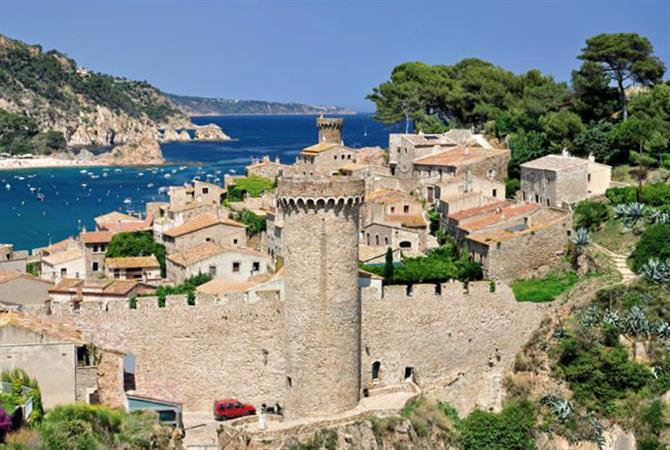 Tossa de Mar is a destination for the whole family