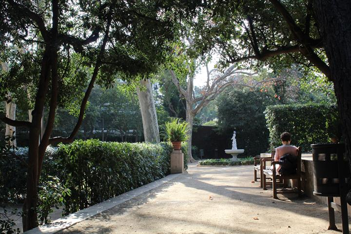 The most beautiful but hidden parks of Barcelona - Part 1