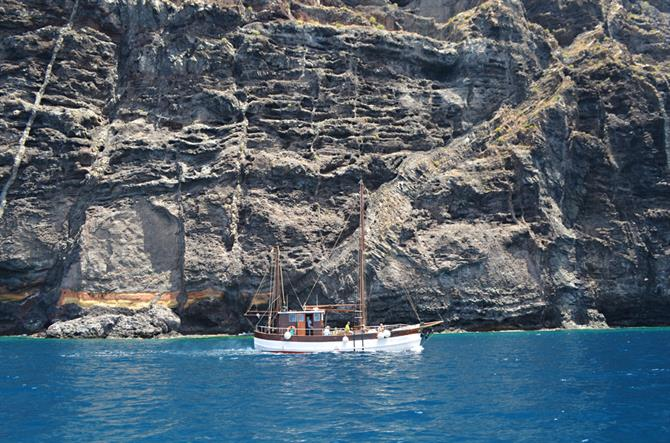 Katrin, whale watching boat, Los Gigantes, Tenerife