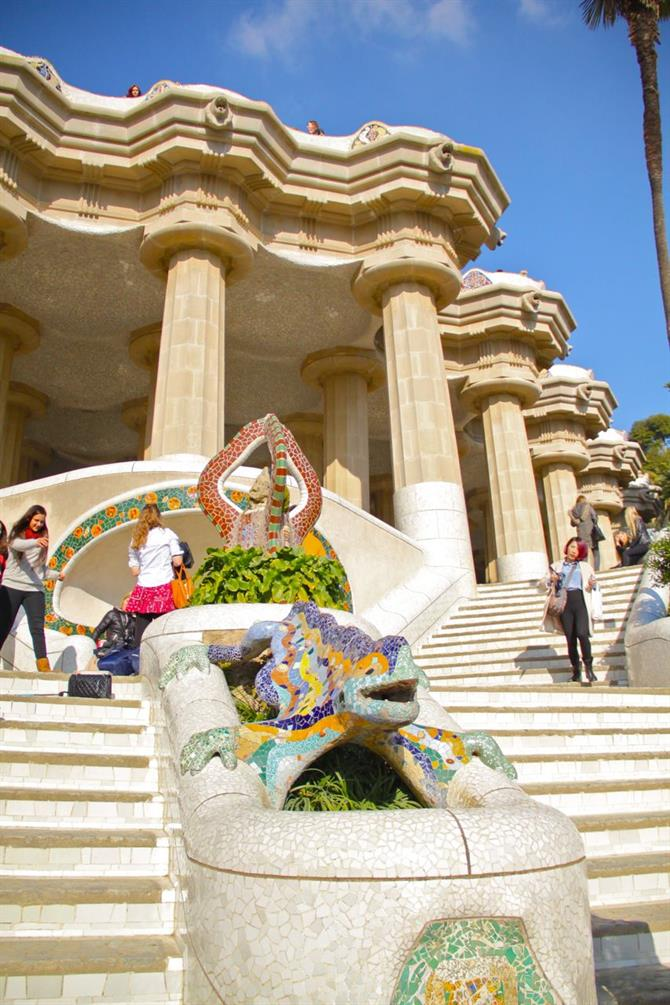 Park Guell dragon