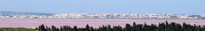 Torrevieja's pink salt lake