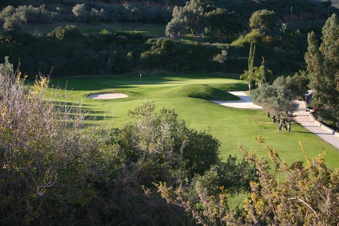 Santa Clara Golf Club-trou 3