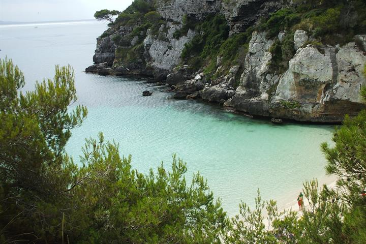 Virgin beaches of Menorca