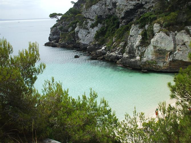 The virgin beaches of Menorca - Macarelleta