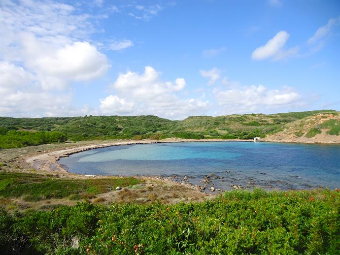 The virgin beaches of Menorca - Sa Torreta