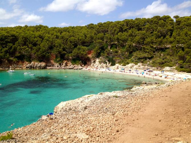 The virgin beaches of Menorca - Cala Escorxada