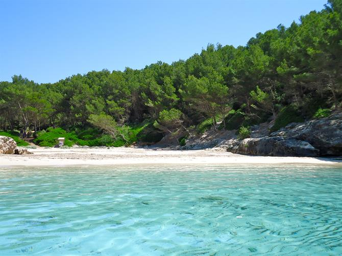 The virgin beaches of Menorca - Cala Fustam