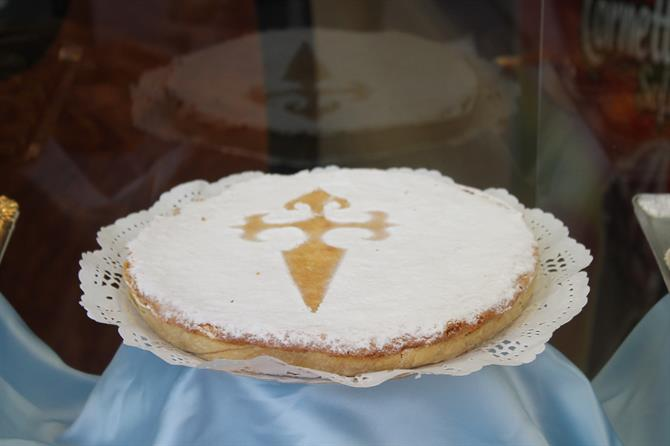 Tarta de Santiago (The pie of Santiago)