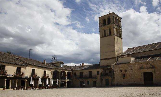 Plaza Mayor, Pedraza
