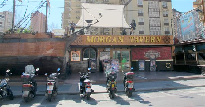 Morgan's Tavern in the English Quarter, Benidorm