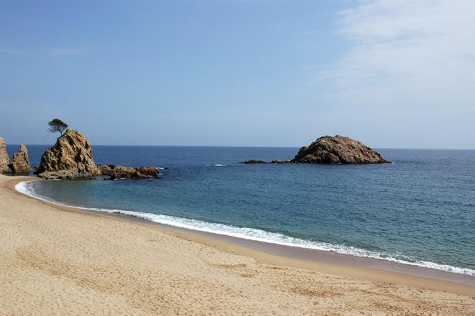 Menuda Beach, Tossa de Mar
