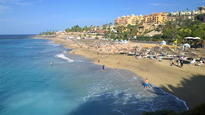 Playa El Duque beach, Costa Adeje