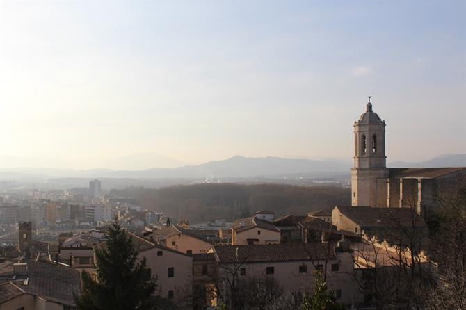 Views of Girona