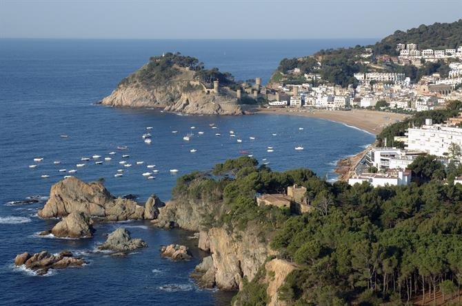 Tossa de Mar and Playa Gran