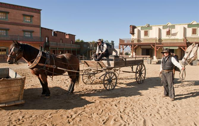 Scenery village for Western films, Mini Hollywood, Almeria, Andalusia