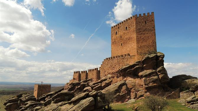 Castillo de Zafra in Game of Thrones 6