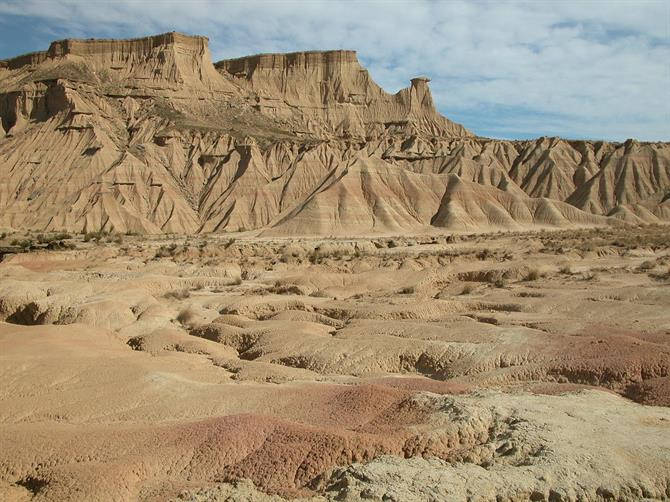 Bardenas Reales - Halbwüste in Navarra. Game of Thrones 6
