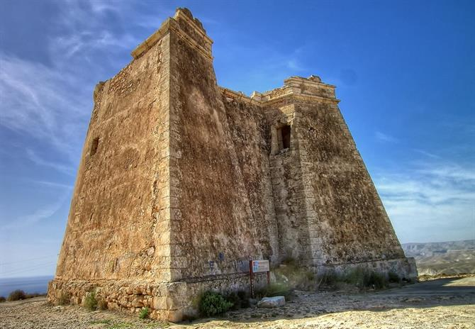 Turm La Mesa Roldan in Almeria. Game of Thrones 6