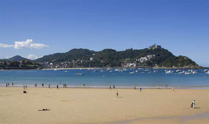 The Concha beach, San Sebastián