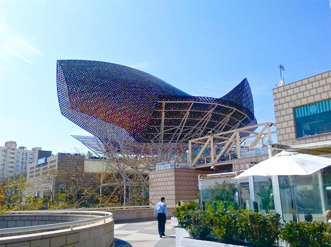 Peix Fish Gehry Barcelona