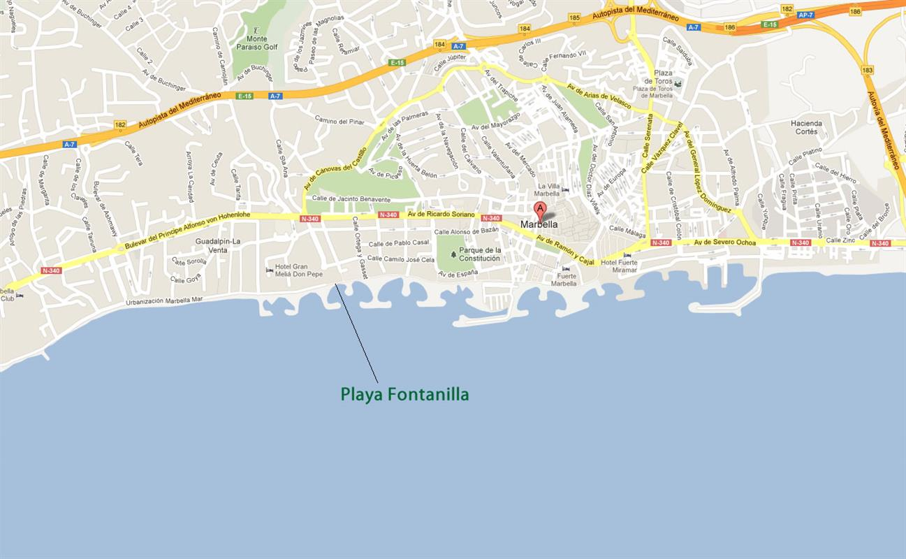 Best Beaches In Marbella Playa Fontanilla