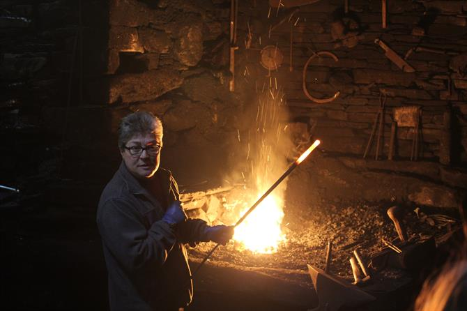 Blacksmith in Os Teixois