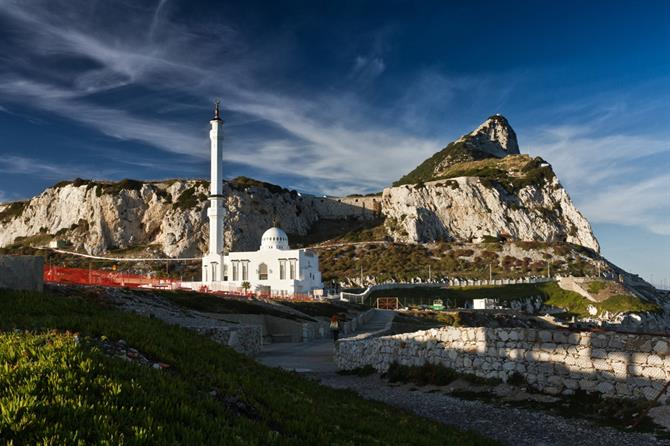 Gibraltar - Rock and Mosquee