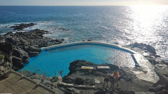 Natural seawater pools in Tenerife