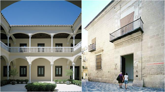 Inside the Picasso Museum Malaga