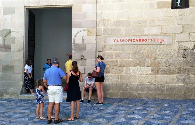 The Picasso Museum in Malaga