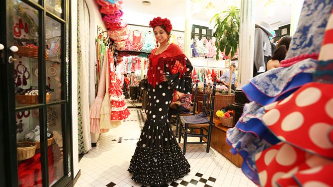 Flamenco Dress, Malaga