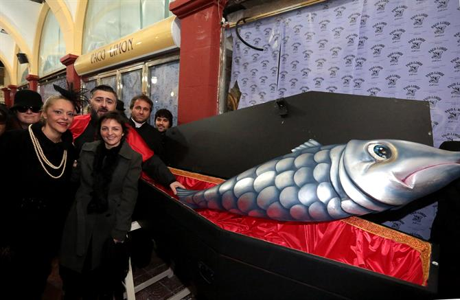 Burial of the Sardine in Benidorm