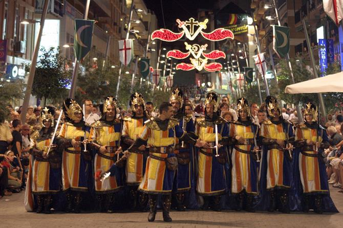 Moors and Christians in Benidorm