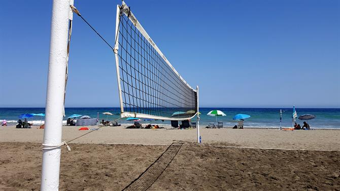 Beachvolleyball in Vera Playa