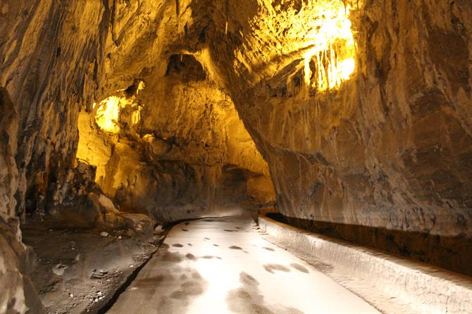 Grotte a Ribadesella nelle Asturie