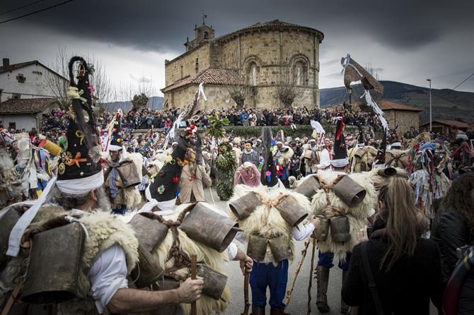 La Vijanera festival in Spain
