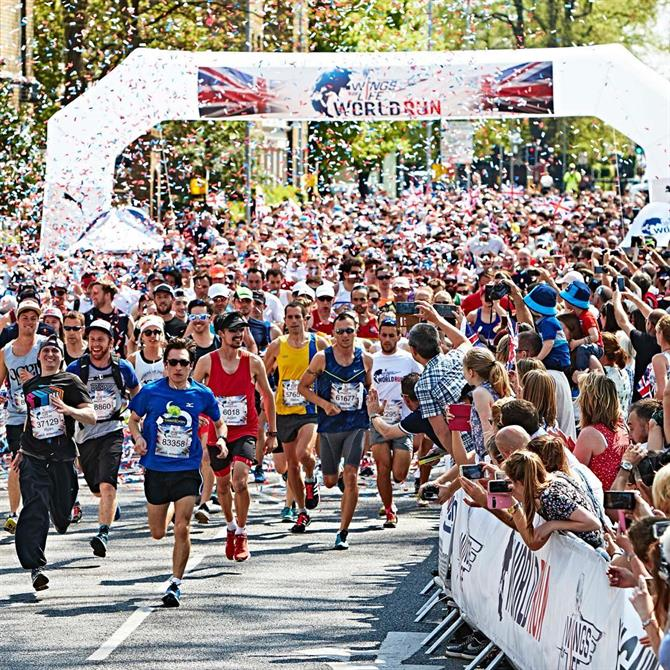 Wings for Life World Run, Valencia