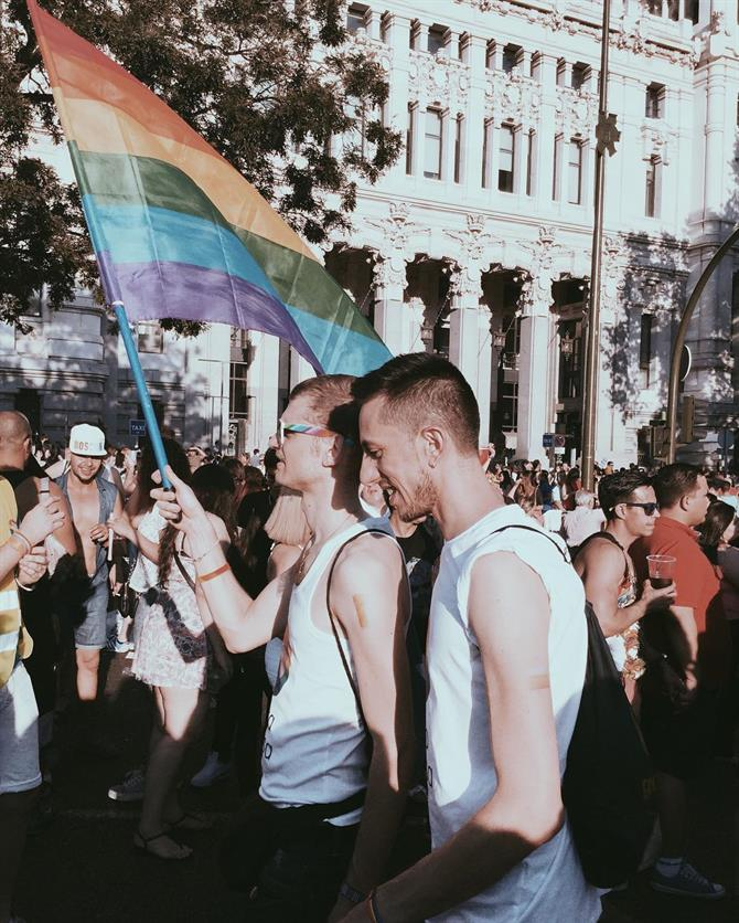 Gay Pride in Spanje